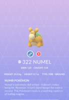 Numel Pokedex