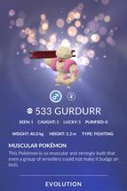 Gurdurr Pokedex