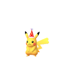 Pikachu female party hat