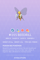 Beedrill Pokedex