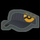 Hat M Grey Orange