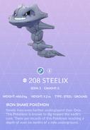 Steelix Pokedex