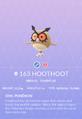 Hoothoot Pokedex.png