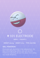 Electrode Pokedex