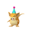 Raticate female party