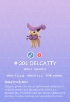 Delcatty Pokedex