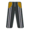 Pants F Grey Stripe Yellow
