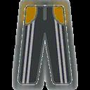 Pants F Grey Stripe Yellow