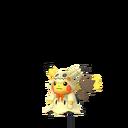 Pikachu female fall