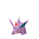 Nidorino party hat