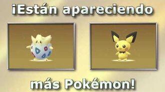 ¡Han llegado más Pokémon!