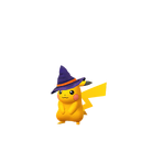 Pikachu witch shiny