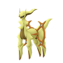 Arceus ground shiny