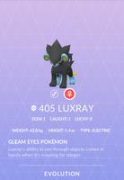 Luxray Pokedex