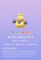 Makuhita Pokedex