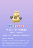 Makuhita Pokedex