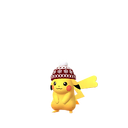 Pikachu female winter