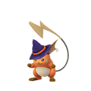 Raichu female witch shiny