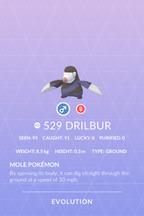 Drilbur Pokedex