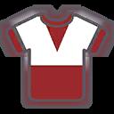 Shirt F Red White