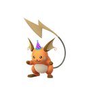 Raichu party shiny