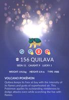 Quilava Pokedex
