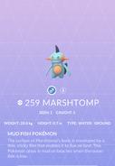 Marshtomp Pokedex
