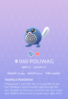 Poliwag Pokedex