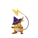 Raichu female witch