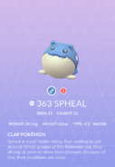 Spheal Pokedex