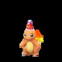 Charmander party hat