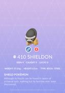 Shieldon Pokedex