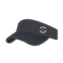 Hat M Grey Pinstripe
