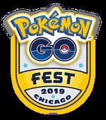 Pokémon GO Fest 2019 Chicago Logo