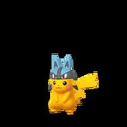 Pikachu female lucario shiny
