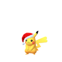 Pikachu female festive