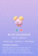 Whismur Pokedex