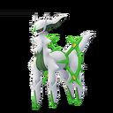 Arceus grass