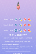Burmy Trash Pokedex