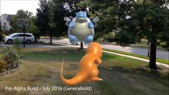 Real Life Pokemon Battles For HoloLens (Pre-Alpha Build)