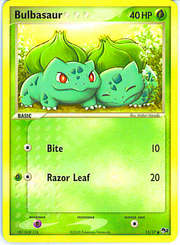 Two Cute Bulbasaur Card by KamonPeachFox
