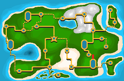 Torren Route 4 Map
