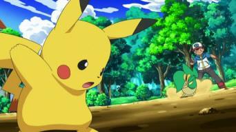 File:Pikachu Vs Snivy.jpg