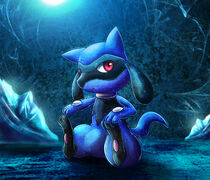 Riolu blue crystal by abusorugia-d3frslv