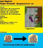 Diglett Profile option 2