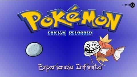 Error del Pokemon Reloaded-Piedra Eterna (Exp Infinita)
