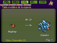 Magikarp Evolucion