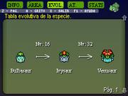 Bulbasaur evolución