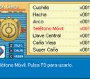 Guía de Objetos Pokémon Reloaded