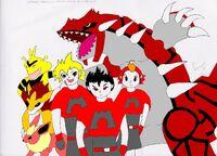 Magma Season - Main Characters